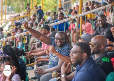 le public au nigeria (Sankofa Bowl 2018)