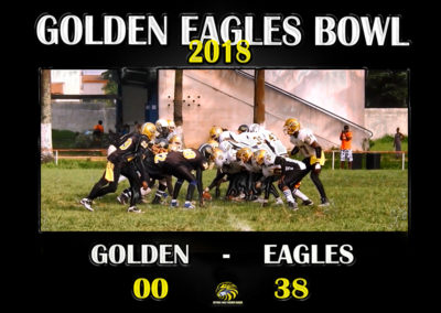 Golden Eagles Bowl 2018