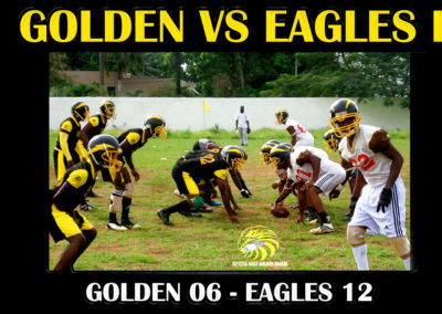 Golden vs Eagles II - November 2016